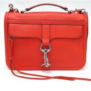 NWT REBECCA MINKOFF CROSSBODY BOWERY ELECTRIC RED